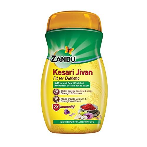 Zandu Kesari Jivan Fit for Diabetic, Ayurvedic Immunity...