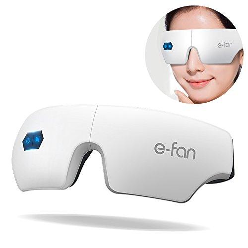 HaloVa Eye Massager, Wireless Charging Eye Massager, Heating Rechargeable Eyes Massager for Eye Bags...