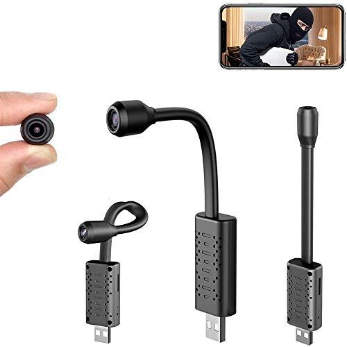 Cámara IP portátil HD Cámara espía V380 Pro App Wifi inalámbrica ajustable cámara