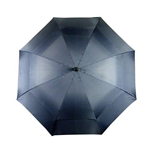 LONGRIDGE Deluxe - Paraguas Resistente al Viento para Golf Azul Azul Marino