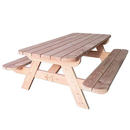 Wood Structure Table Pique-Nique Sapin Douglas 220