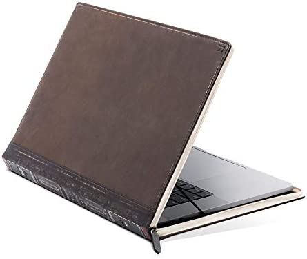 Twelve South BookBook V2 for MacBook Vintage Leather Book case Sleeve with Interior Pocket for product image
