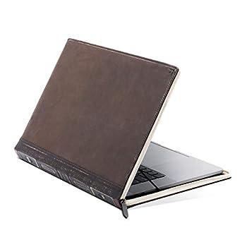 "Twelve South BookBook V2 for MacBook | Vintage Leather Book case/Sleeve with Interior Pocket for 13"" MacBook Pro w/Thunderbolt 3  USB-C  and 13"" MacBook Air Retina"