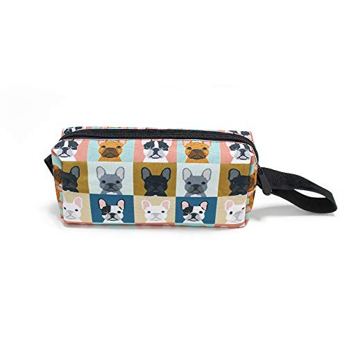 French Bulldog Gift Portable Make-up Bag Makeup Bag Sewing Kit Medicine Bag Cosmetic Bag For Home Office Travel Camping Sport Gym Outdoor