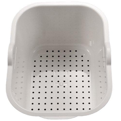 Houzer CL-1420 White Colander