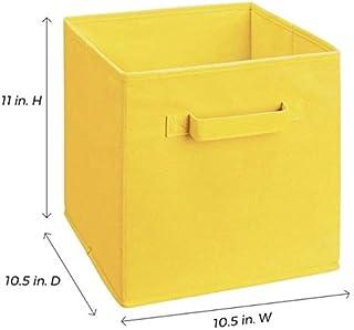 N / A Nouvelle boîte de Rangement en Tissu Non tissé Pliable Cube Panier de Rangement Bin Tiroirs en Tissu Organisateur de...