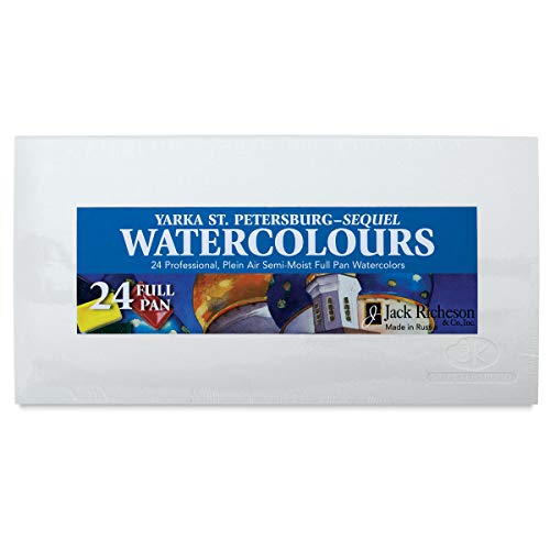 Yarka St. Petersburg Watercolor Set set of 24