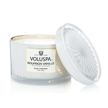 Voluspa Bourbon Vanille Corta Maison Candle no box