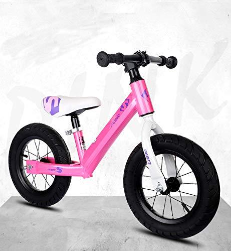 JMSL niños Montar en Bicicleta de Equilibrio Durante 2-6 años niños niños-Pink