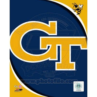 Georgia Tech Yellow Jackets NCAA 8x10 Photograph Team Logo