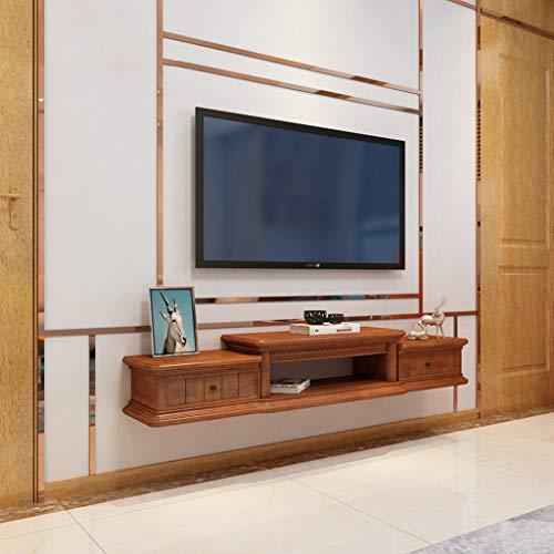 TV-kast voor wandmontage, zwevende plank, wandplank voor woonkamer, slaapkamer, TV-standaard