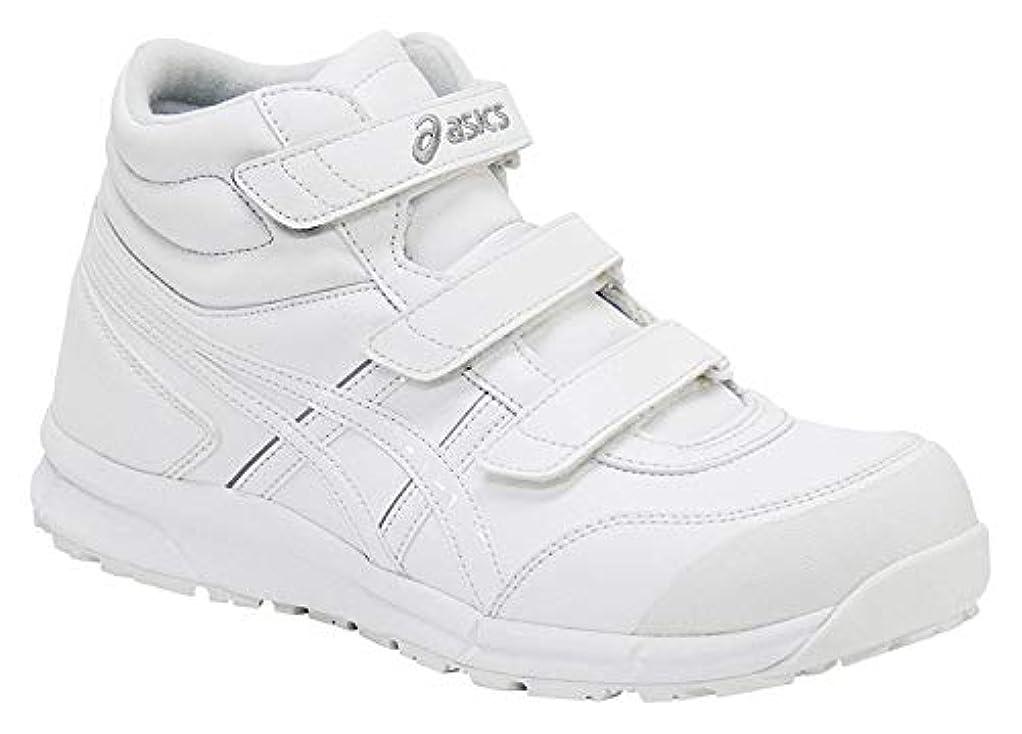 放置シーフード施設[アシックス] 安全靴 ウィンジョブ CP302 作業靴 ベルトタイプ FCP302