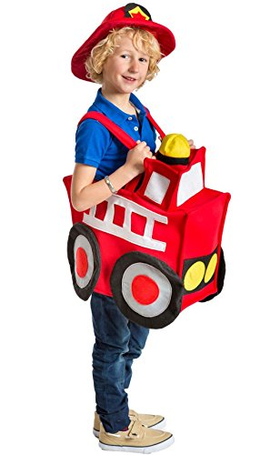 Disfraz de camin de bomberos infantil - 7-9 aos