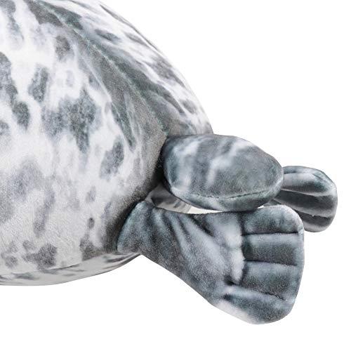 Yoruii Cute Blob Seal Plush Pillow Soft Chubby Hug Stuffed Cotton Animal Plush Pillow Toy