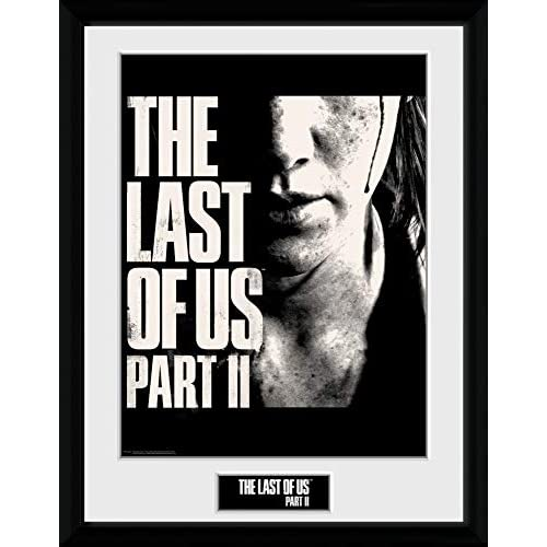 1art1 The Last of Us - Part II, Face Poster da Collezione Incorniciato (40 x 30cm)