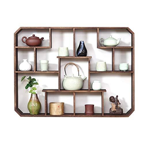 Pyrojewel Montado en la pared flotante pared del marco Marco flotante de almacenamiento Unidad de visualización Soporte de exhibición de la decoración del hogar dormitorio Cocina Photo