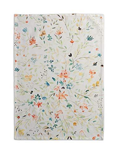 Maison d' Hermine Colmar - Set di 2 asciugamani da cucina in 100% cotone, assorbenti e morbidi, asciugamani da bar | Primavera/Estate (50 cm x 70 cm)