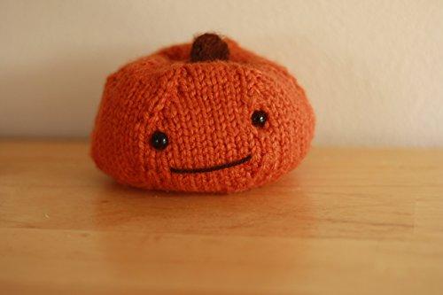 Hand Knit Pumpkin Sachet