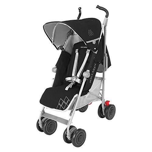 Maclaren Techno XT - Silla de paseo, color negro