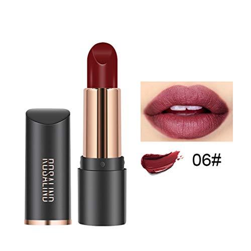 Lippenstift Matt Farben Lipgloss Lipstick Wasserfest, lippenstift lippen schminken lippenkonturenstift lippenstift orange rosenholz haltbarer lippenstift kussfester make up kaufen bester lippenstift