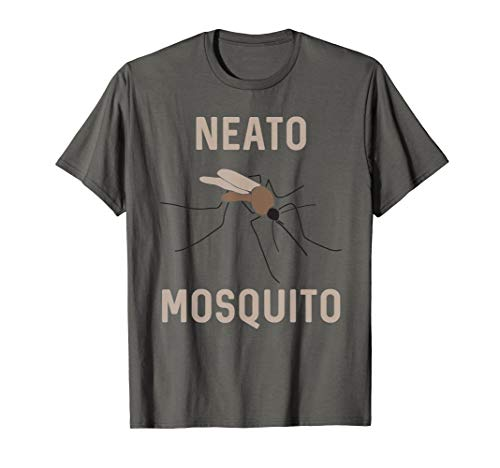 Neato Mosquito Tan Funny Insect Graphic T-Shirt