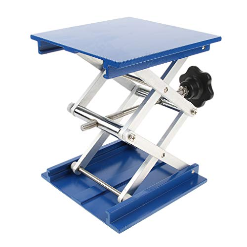 H HILABEE 6x6 Aluminium Router Tischständer Lift Jack Lab Hebe Rack Für Die Holzbearbeitung