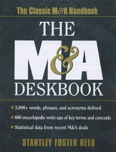 The M & A Deskbook