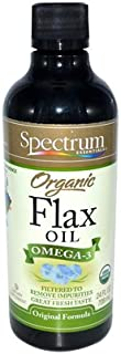 Spectrum Essentials Organic Flax Oil, 24 Fluid Ounce