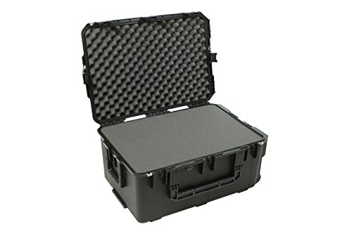 SKB 3I-2617-12BC Mil-Std Waterproof Case with Wheels and Cubed Foam, Multi