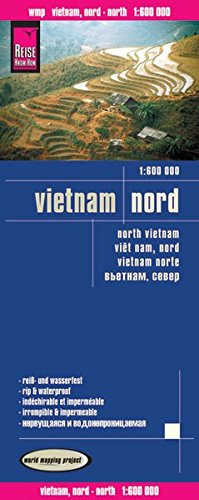 Reise Know-How Landkarte Vietnam, Nord (1:600.000) world mapping project