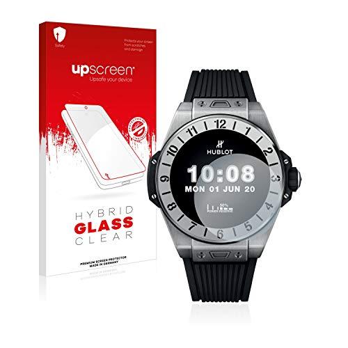 upscreen Protector Pantalla Cristal Templado Compatible con Hublot Big Bang e Premier League Hybrid Glass - 9H Dureza