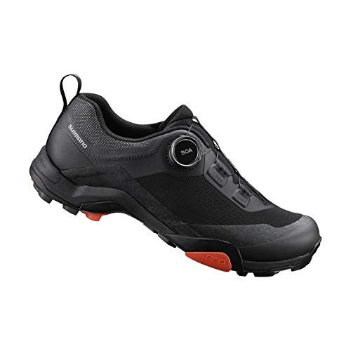SHIMANO SH-MT701 Bicycle Shoes, Black, 43.0