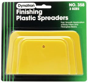Dynatron Bondo BND-358 Yellow Spreaders - 3 Pack Assorted