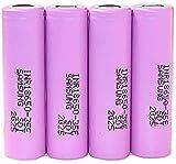 Rechargeable Battery Inr18650 35E 3500Mah 18650 Battery Li-ion 3.7V Rechargeable Battery 3.7V 4Pcs