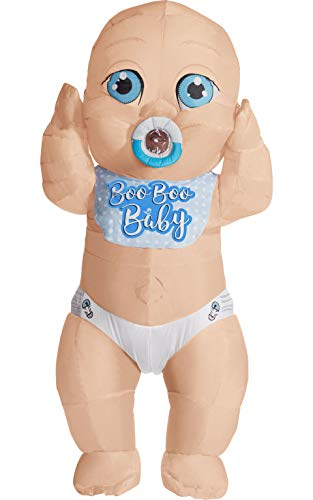 Rubie's Boo Baby Inflatable Costume, As Shown, One Size