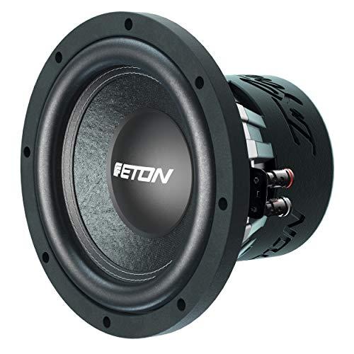 ETON PW 8: Kräftiger 20 cm / 8 Zoll Langhub Woofer, Bass fürs Auto, Bass Lautsprecher mit Ferritmagnet, handgeschöpfter Papiermembran, 2 x 2 Ohm Doppelschwingspule, 400 Watt