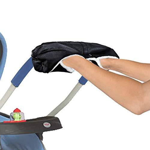 Queen.Y Kinderwagenhandschuhe Frostschutzmittel Wasserdicht Winddicht Extra Dick Warm Winter Kinderwagenhandschuh Kinderwagenhandschuhe/Handschützer für Alle Kinderwagen Und Buggys