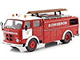 Editorial Salvat 1968 Camión Pegaso 1091 'Cuerpo De Bomberos Barcelona 1:43 SP05
