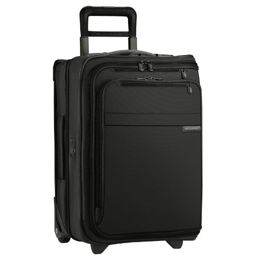 Briggs & Riley Baseline-Softside Carry-On 2-Wheel Garment Bag, Black, One SIze