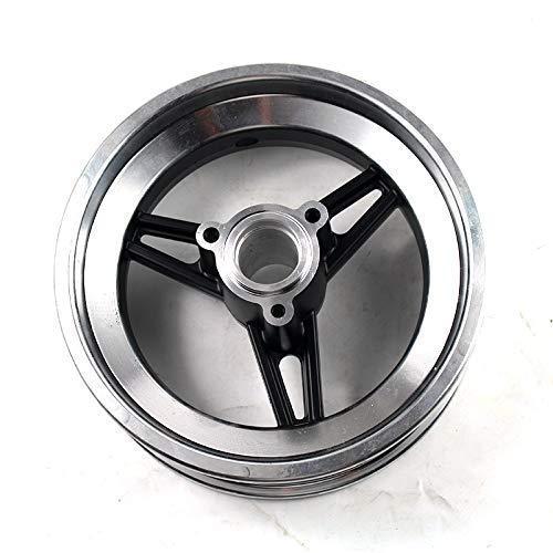 DIEFMJ Neumáticos de Scooter eléctrico, Cubo de Rueda de vacío de 10 Pulgadas para Scooter eléctrico, Scooter equilibrado, Uso a Juego, neumáticos sin cámara, neumáticos de vacío de 10x2,70-6,5