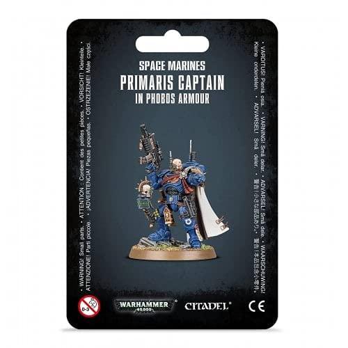 Games Workshop: Warhammer 40.000: Marines Espaciales - Capitán en Phobos Armour