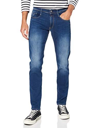 Replay Herren Anbass Jeans, Dark Blue, W34 / L32