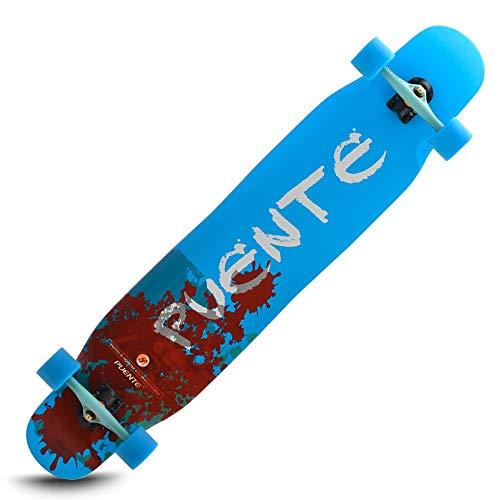 LJHBC Skateboard Deck 46in Professional Longboard Skateboard Adult Beginner Brush Street Dance Board 8-Storey Maple Deck Bearing Weight 150kg Best Gift (Color : #1)