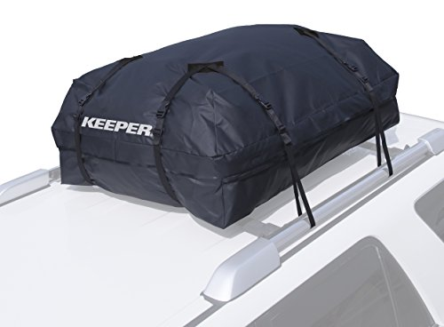 KEEPER 07204 Black Premium Waterproof Cargo Bag (15 Cubic Feet)
