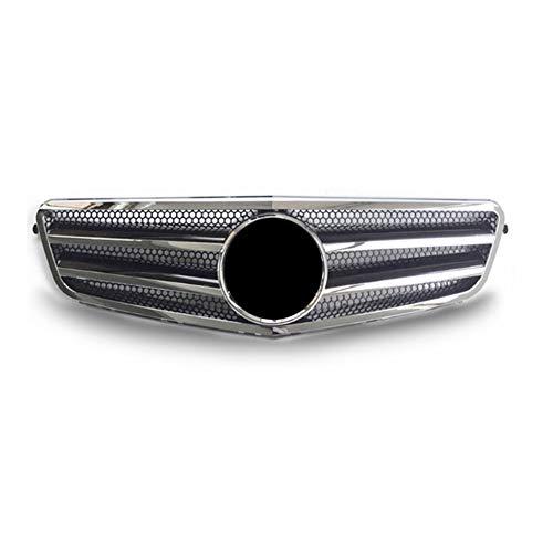 ASDNN Parrilla De Malla De Rejilla Delantera De Coche Abs para Mercedes-Benz W204 Clase C C300 C280 C200 C350 2007-2014