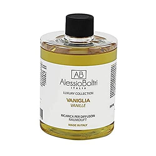 AB Alessio Boltri - Ricarica per diffusori luxury AB Alessio Boltri 500 ml, profumazione Vaniglia
