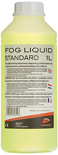 JB Systems 04810 - Líquido para máquina de humo blanco, 1L