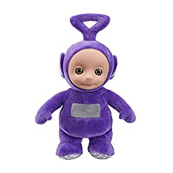 Cute and cuddly talking Tinky Winky Made from super soft plush with original Teletubbies styling Press Tinky Winky's tummy to hear him talk With original Teletubbies sound effects All Ages