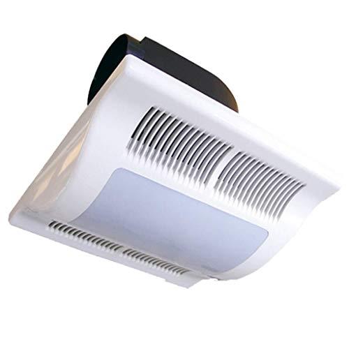Ventilador de ventilación doméstico Extintor De 10 Pulgadas, Techo con Conductos De Ventilación del Ventilador Silencioso De Escape De Escape con La Iluminación con Luz LITING