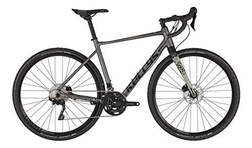Kellys Soot 50 2021 - Bicicleta de carreras (54 cm, gris)